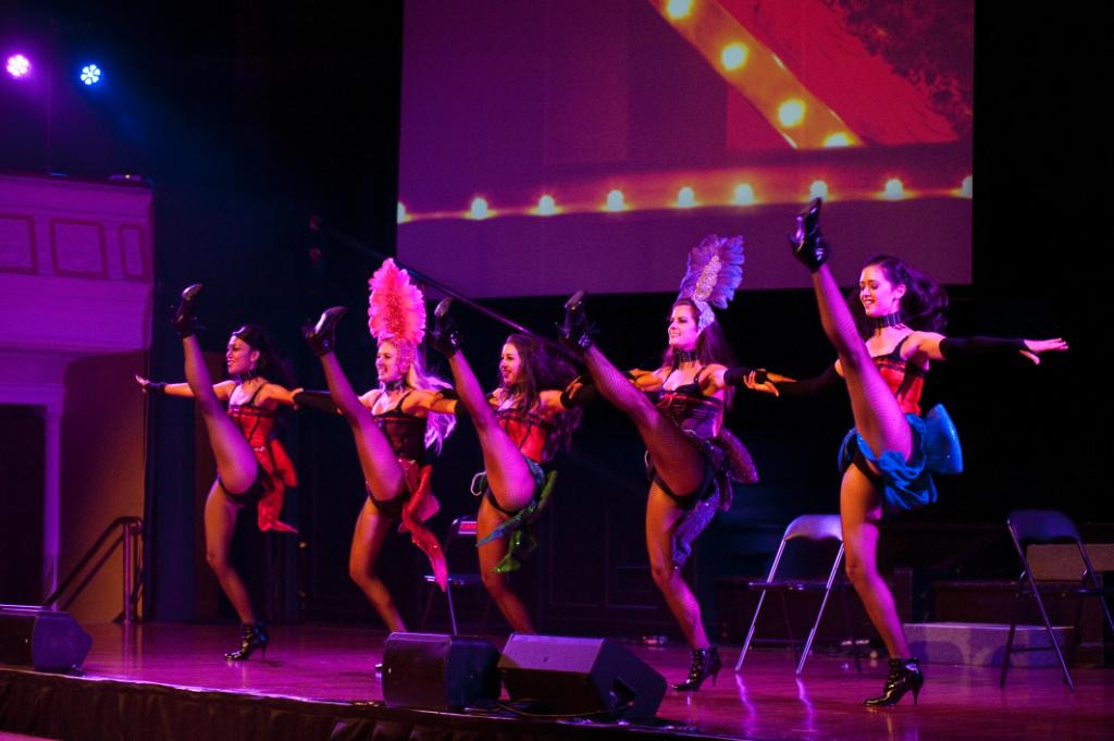 Candy Lane Dancers Moulin Rouge Show