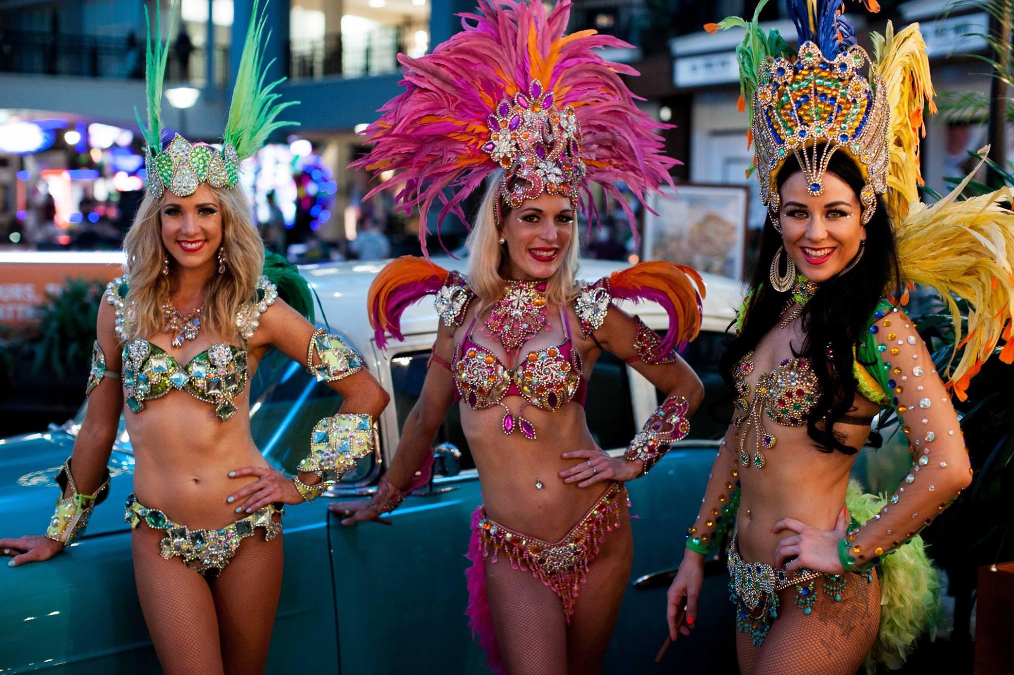 Mardi Gras Dancers Gold Coast