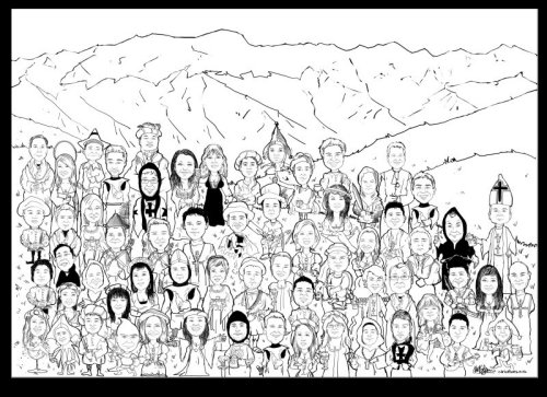 Group Cartoon picture