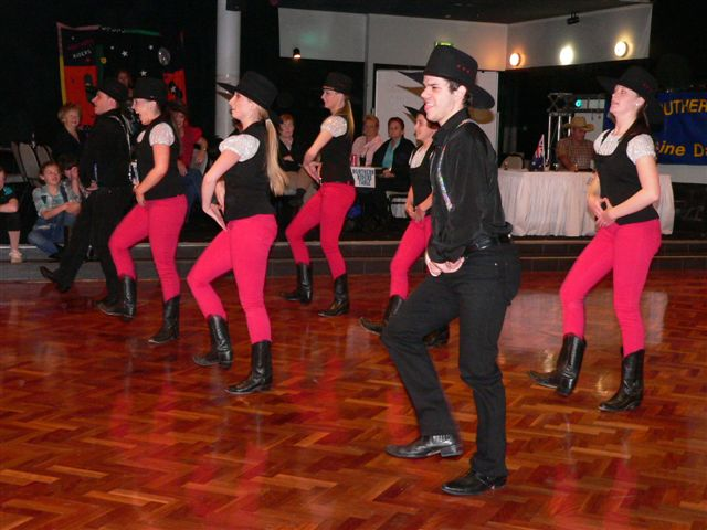 LIne Dancers in Sydney. Available for Country and Western theme parties