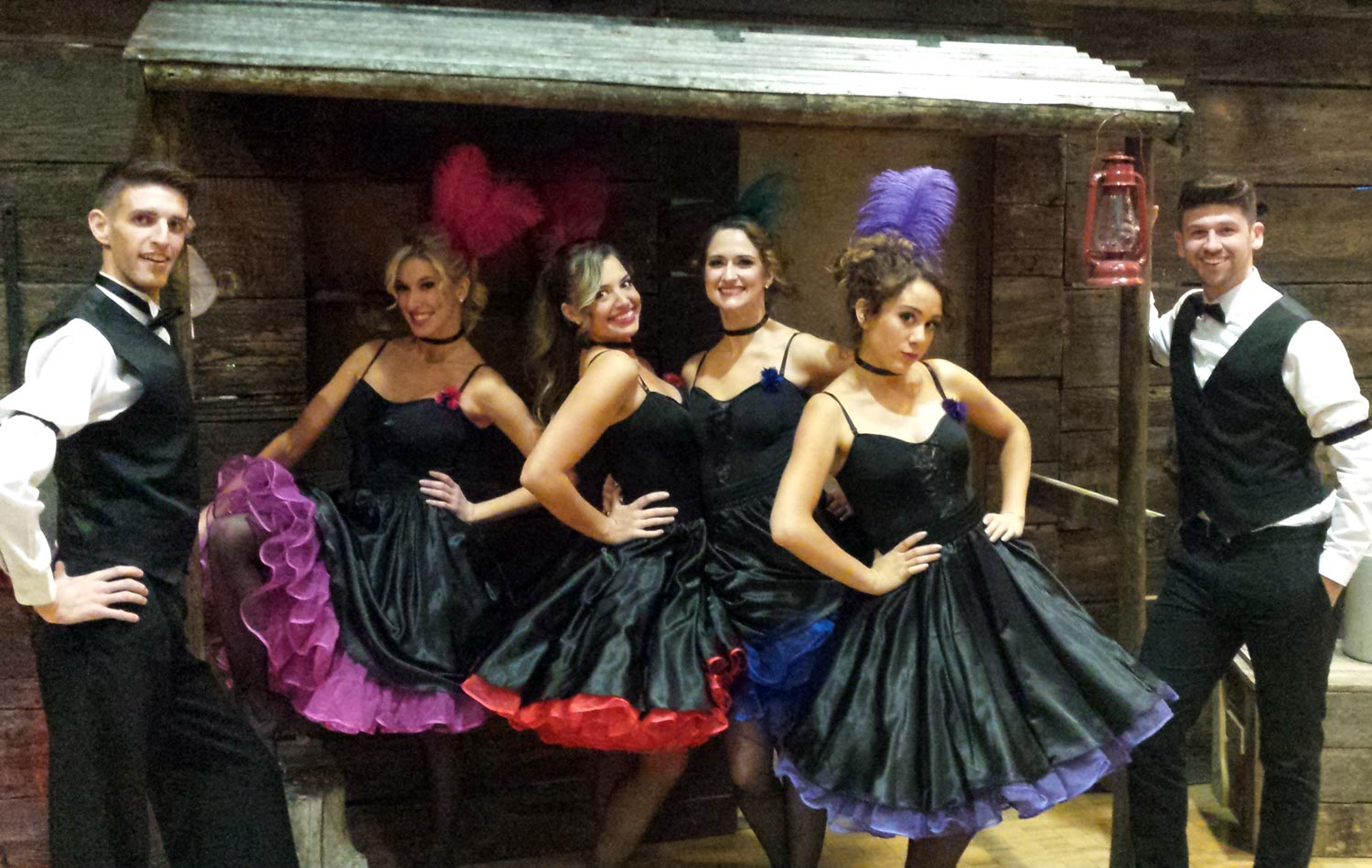 Saloon Girls and Guys for Wild West theme party