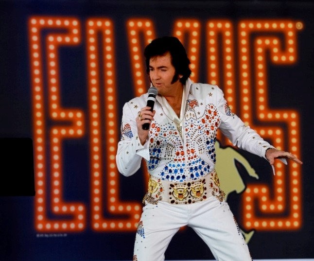 Pete Memphis Elvis Impersonator