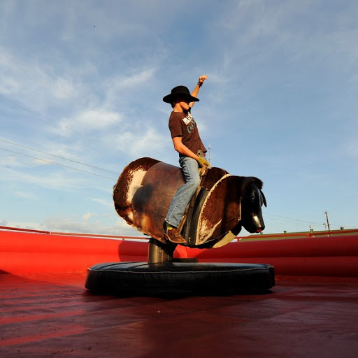 Mechanical Bull for Country and Western theme party